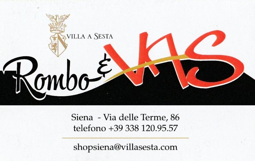 Sponsor: Rombo&Vas entra a far parte della famiglia degli sponsor delBlog