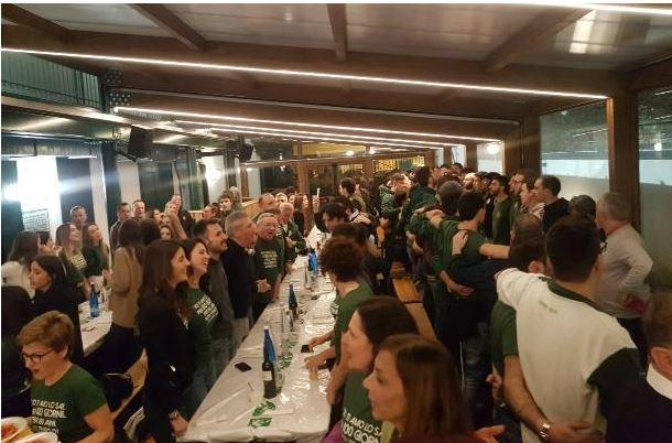 Palio di Legnano, Contrada San Domenico: Resoconto Cena dei 100 del22/02