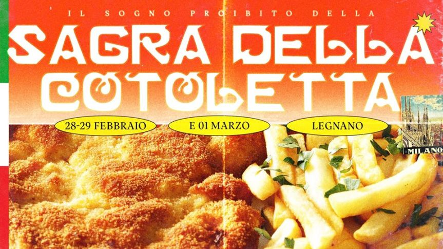 Palio di Legnano, Contrada San Domenico: 28-29/2 e 01/03 La grande Sagra della Cotoletta a Legnano! ✦ IngressoGratuito