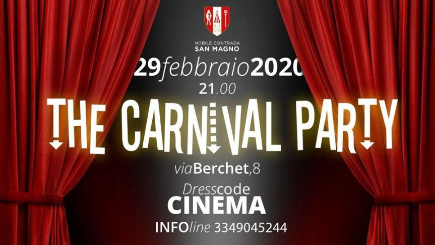 Palio di Legnano, Contrada San Magno: 29/02 The CarnivalParty