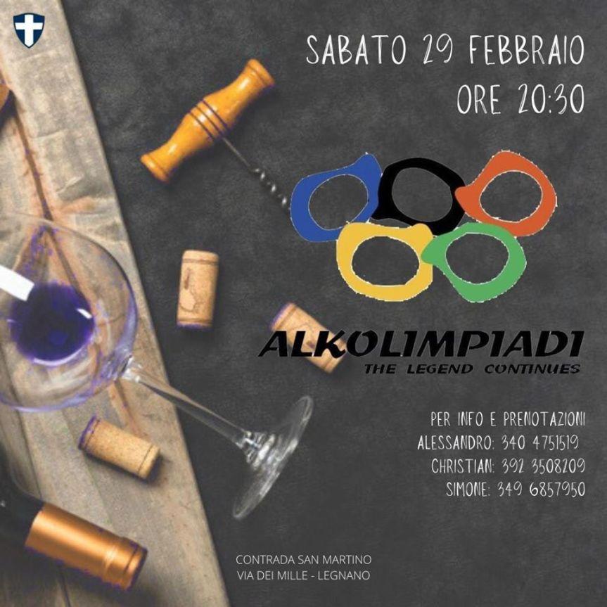 Palio di Legnano, Contrada San Martino: 29/02 Alkolimpiadi The LegendContinues