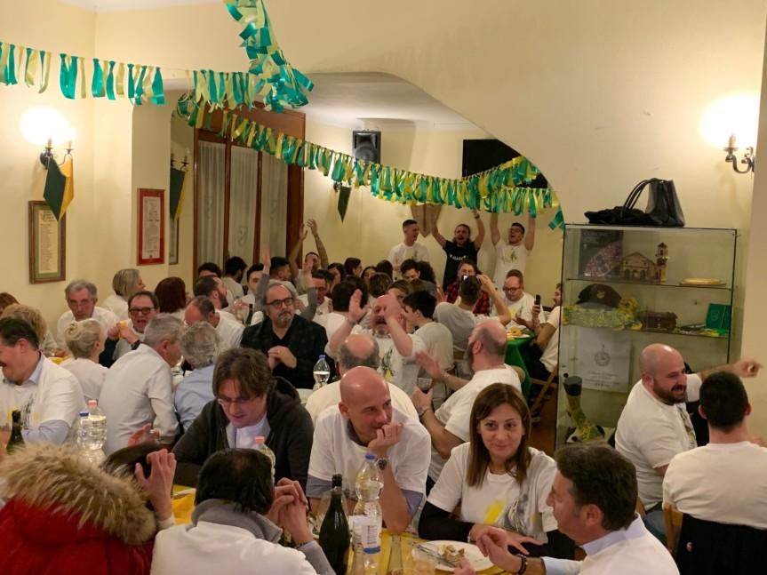 Palio di Legnano, Contrada Sant'Ambrogio: Resoconto Cena dei 100 del22/02