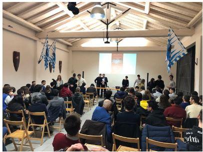 palio di legnano, Contrada Sant'Erasmo: Resoconto PoliticsHub convegno riservato agli associati,  con Giancarlo Giorgetti del07/02