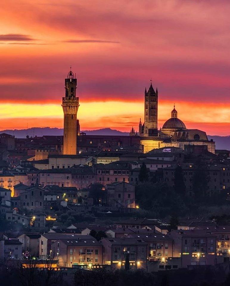 Siena: Luca Betti e Andrea Leoncini, Com'era Siena… dentro lemura
