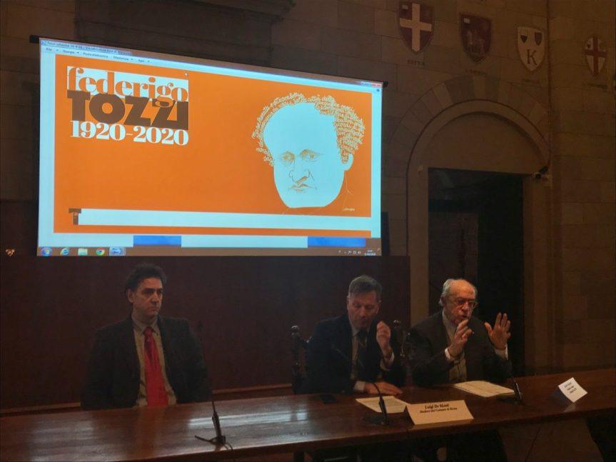 Siena: Cento anni di Federigo Tozzi. Siena celebra lo scrittore con tantieventi