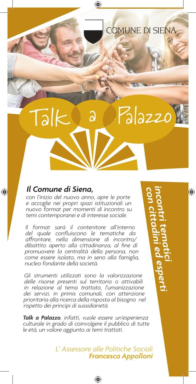 """Siena, Il professor Giacomo Stella ad """"Un Talk a Palazzo"""": Il maggior esperto di DSA in Italia protagonistadell'incontro"""