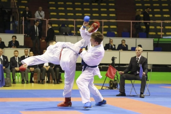 Cesare Banfi in finale