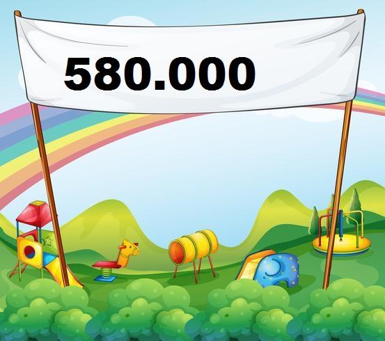 Massi Lo Sà: Nuovo Record del Blog, raggiunta Quota 580.000Visite!!