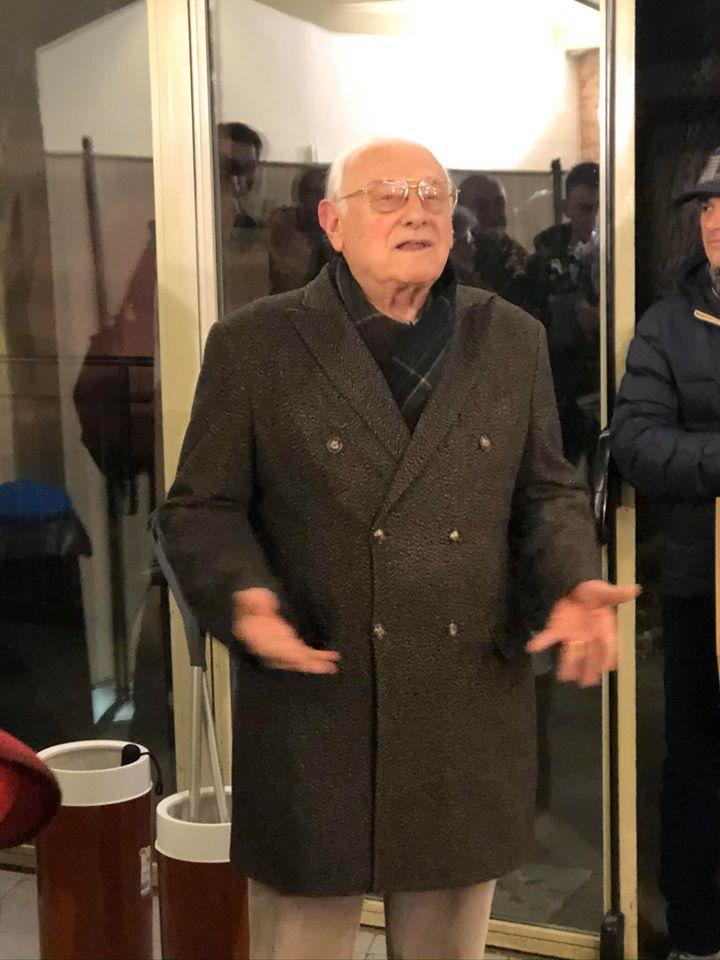 Palio di Siena, Contrada dell'Aquila: Festa a sorpresa per il Prof. Goretti sabato29/02