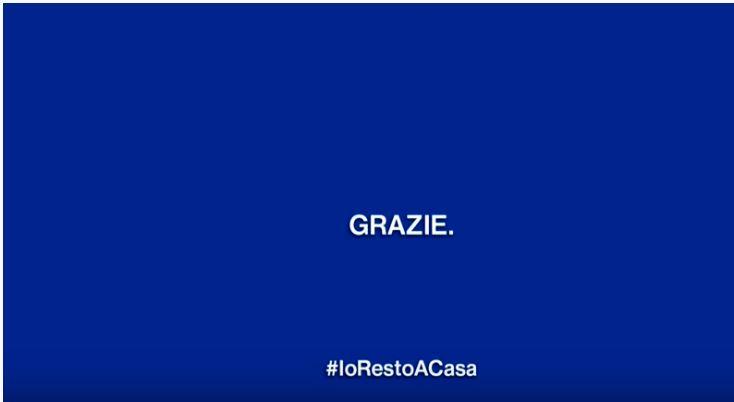 "Italia: Campagna ""Grazie"""