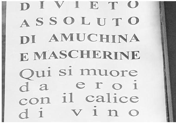 Siena: Cartello in un ristorante del centro indigna icittadini