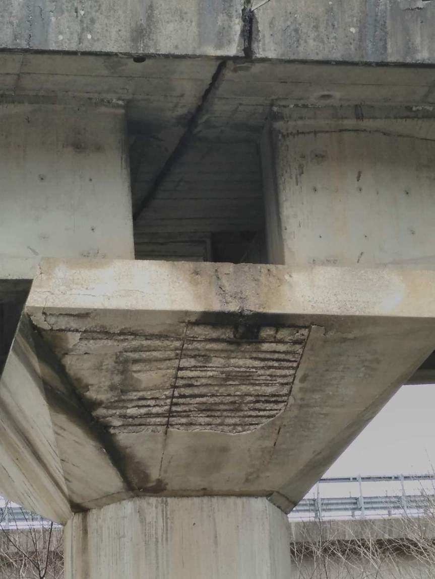 Siena: Le colonne portanti della tangenziale sono in pessime condizionistrutturali