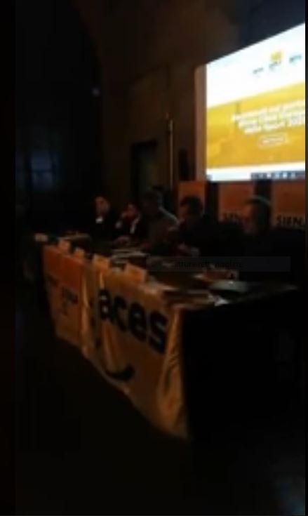 Siena: Oggi 02/03 Conferenza Stampa Presentazione del dossier Siena Città Europea dello Sport2021