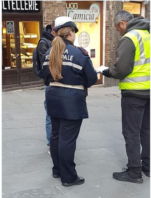 Siena, covid-19: I controlli effettuati, oggi 30 marzo, dalla PoliziaMunicipale