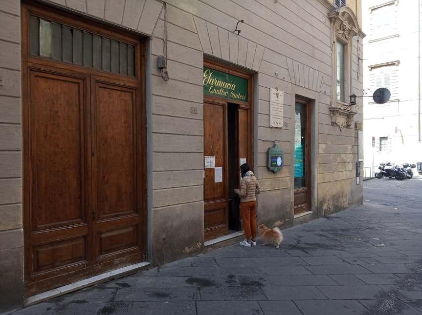 Siena: Fino al 17 maggio nelle farmacie e parafarmacie ingresso aperto alpubblico