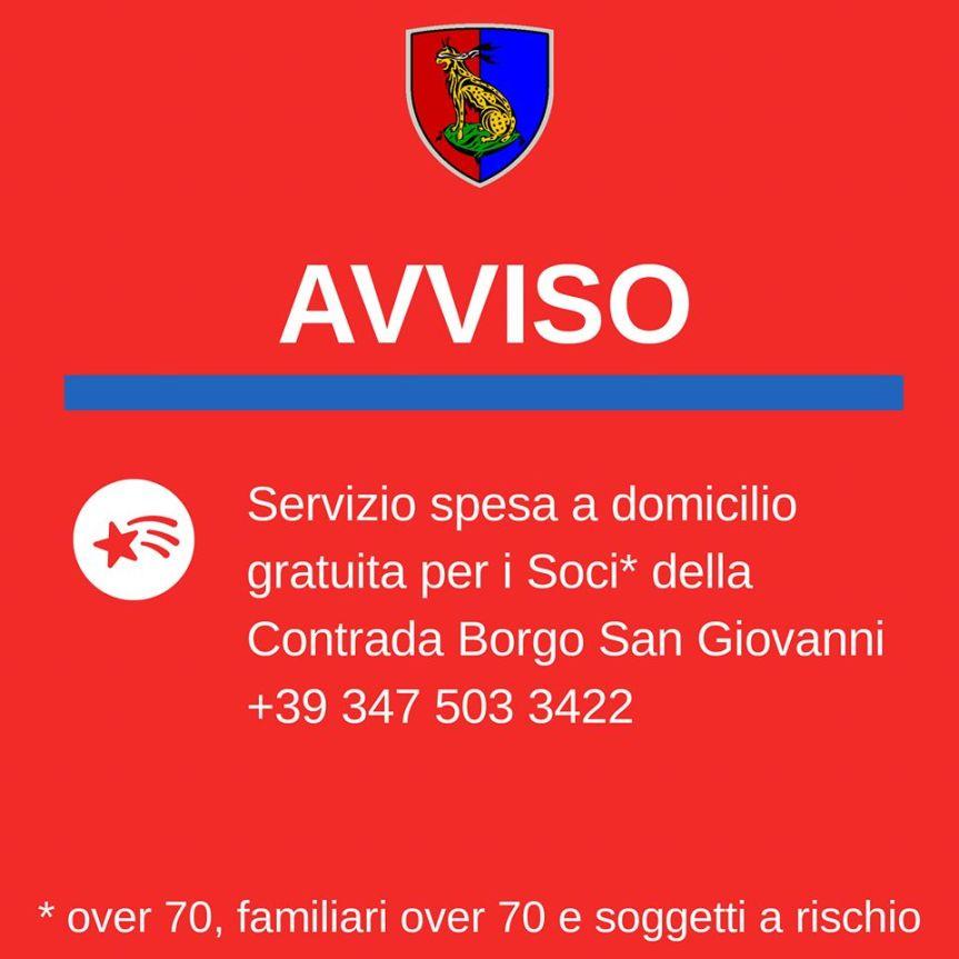 Palio di Ferrara: Il Borgo San Giovanni porta la spesa a casa dei propricontradaioli