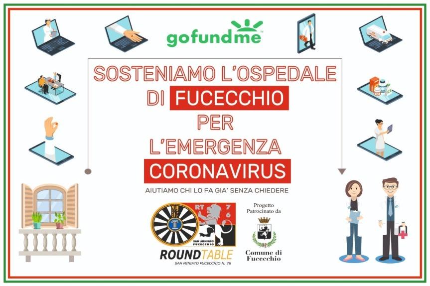 Fucecchio: Coronavirus – Sosteniamo l'Ospedale diFucecchio