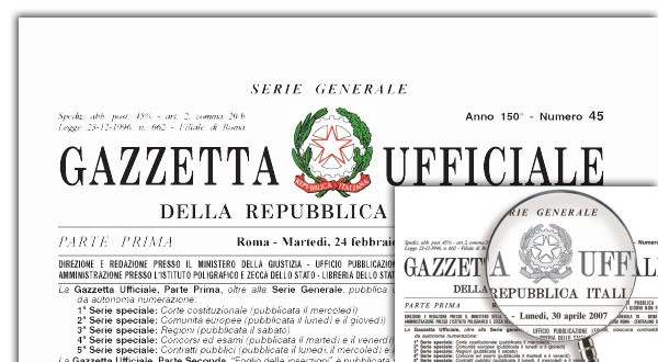 Italia: Il testo della Legge 17 marzo2020
