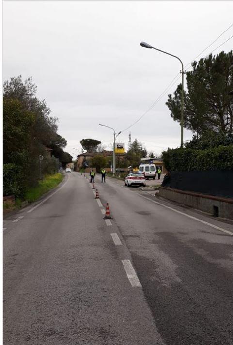 Siena, Covid-19: I controlli effettuati oggi, 31 marzo, dalla PoliziaMunicipale