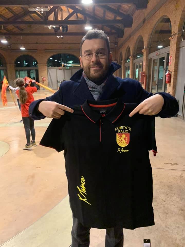 Palio di Asti, Comitato palio Nizza Monferrato: In consegna le maglie2020