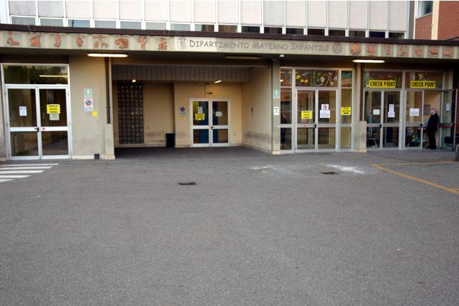 Siena: Nuovo check-point di accesso al policlinico Santa Maria alle Scotte all'ingresso dellotto
