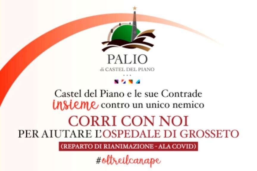 Palio di Castel del Piano,  Oltre il canape: Uniti contro ilCOVID-19
