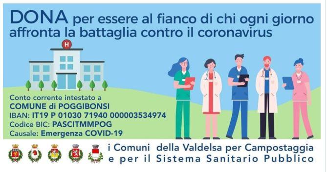 Provincia di Siena: La Valdelsa dal cuore grande, in due giorni raccolti oltre 34mila euro per ospedale esanità