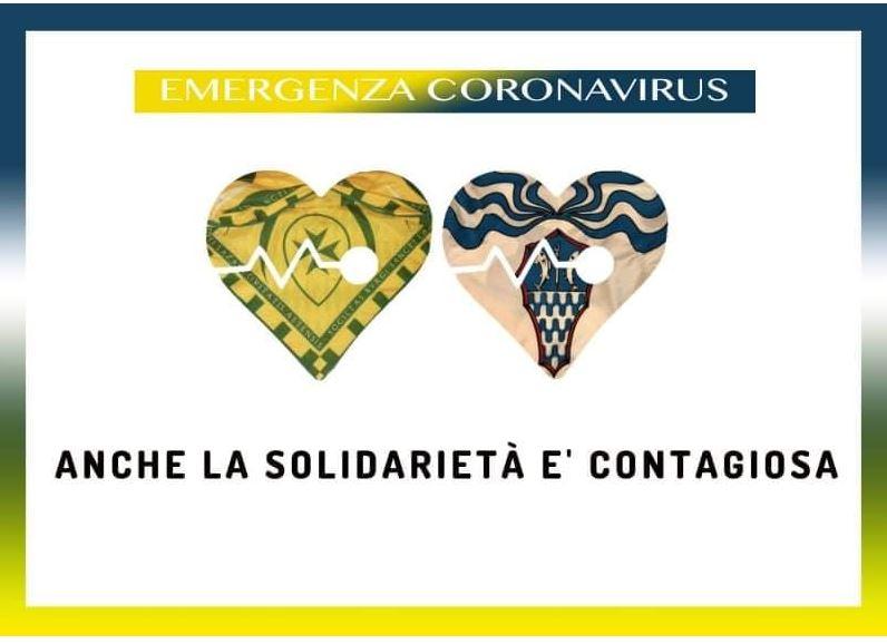 Palio di Asti, Comitato Palio Borgo San Lazzaro e Borgo Tanaro: Emergenza Coronavirus, anche la Solidarietà ècontagiosa