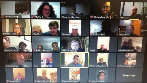 Palio di legnano, Contrada Sant'Ambrogio: Consiglio di contrada online, Distanti mauniti
