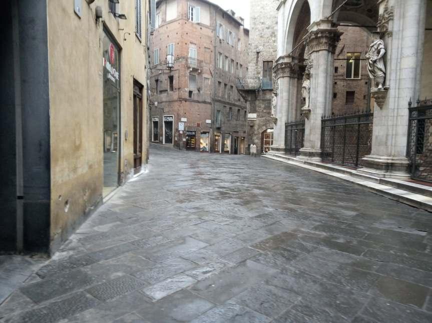 Siena: Oggi 12/03 la situazione in città dopo le nuove norme introdotte dall'ennesimo DecretoConte