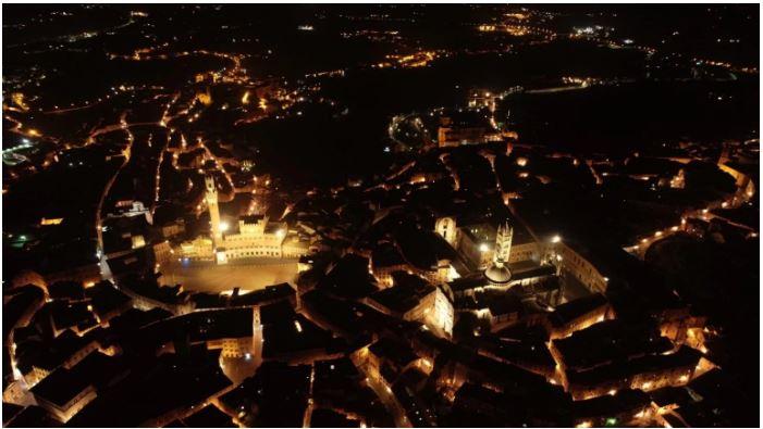 Siena: Le suggestive immagini di Sienadall'alto