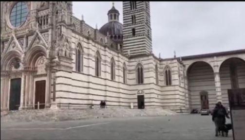 Siena: Presidio in Piazza Duomo per gli operatori delturismo