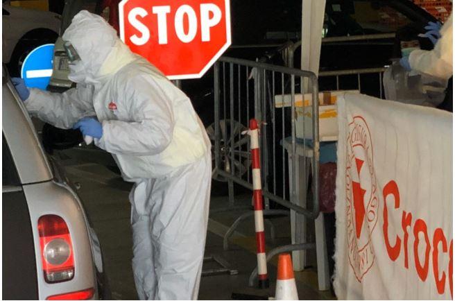 Siena: Coronavirus, al via i tamponi drivethru
