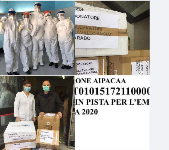 Ippica, Sardegna, Aipacaa: Consegnato altro materiale all'Ospedale diSassari