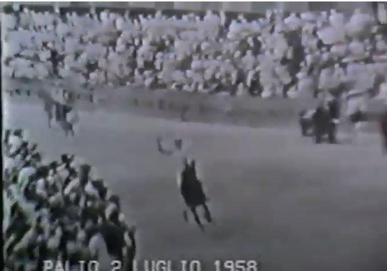 Palio di Siena: Palio 2 luglio1958