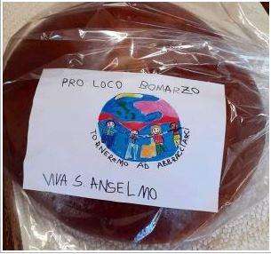 Palio di Bomarzo: La Pro Loco consegna a domicilio i biscotti disant'Anselmo