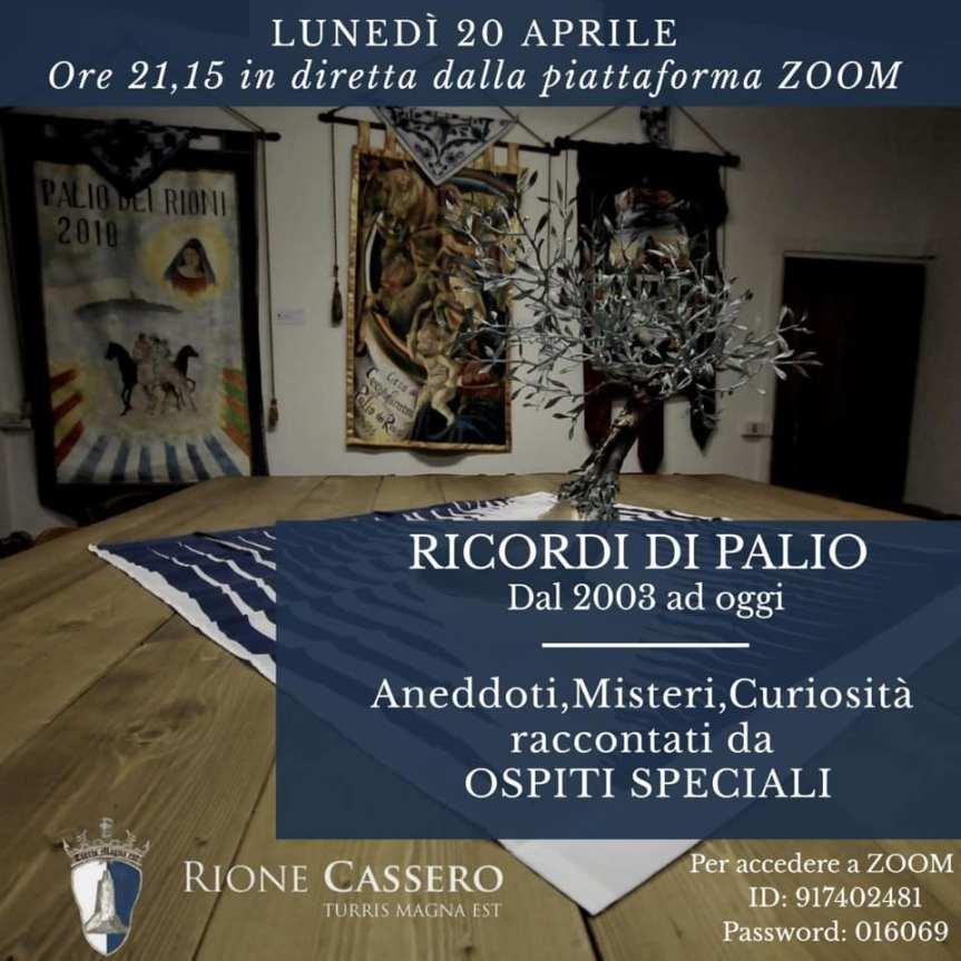 """Palio di Castiglion Fiorentino, Rione Cassero: Oggi 20/04 """"Ricordi di Palio dal 2003 adoggi"""""""