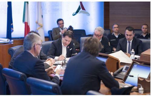 Italia: Il comunicato stampa del Consiglio dei Ministri n.81