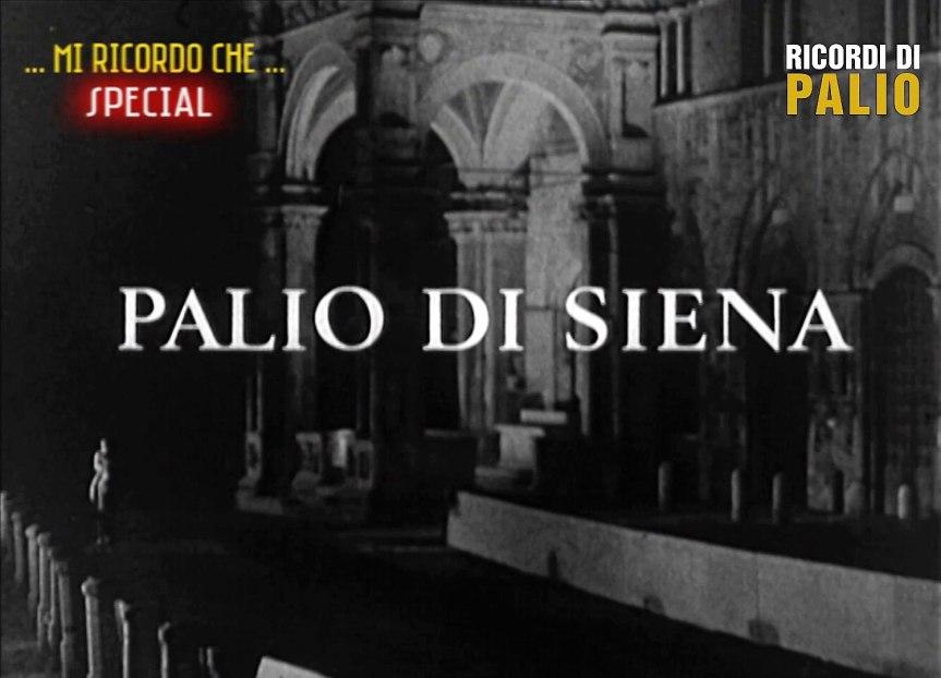 """Palio di Siena, Ricordi di Palio: Oggi 07/04 ore 20.30 Michele Fiorini presenta """"Palio di Siena di Reinhard Raffalt Luglio1968"""""""