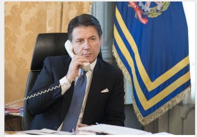 Italia: Colloquio telefonico del Presidente Conte con BillGates