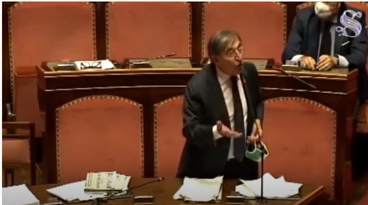 Italia: L'intervento del senatore Ignazio La Russa sull'informativa urgente del presidenteConte