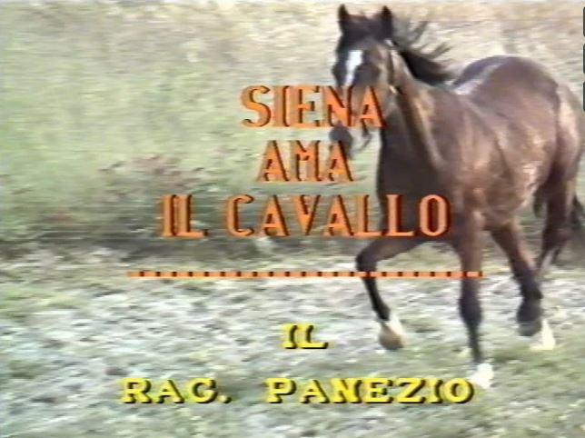 """Palio di Siena, Ricordi di Palio: """"Il ragionier Panezio"""" C3T1988"""