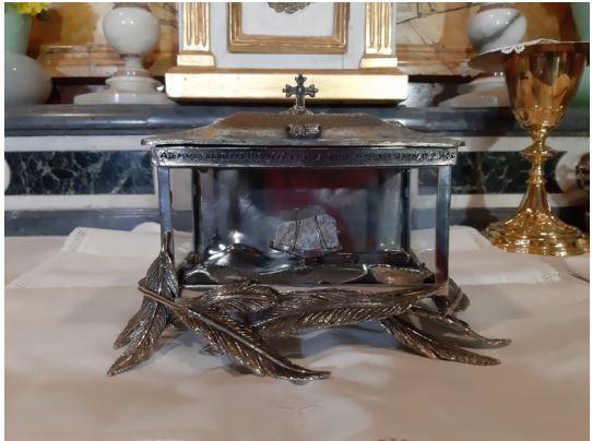 Siena: Oggi  16/04 l'esposizione in Cattedrale della reliquia del BeatoAmbrogio