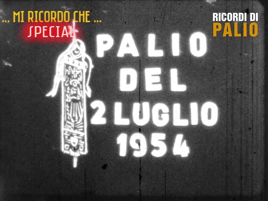 """Palio di Siena, Ricordi di Palio: Qua potete vedere il Documentario """"Il Palio di Siena"""" di Lando Landini – 2 luglio1954"""