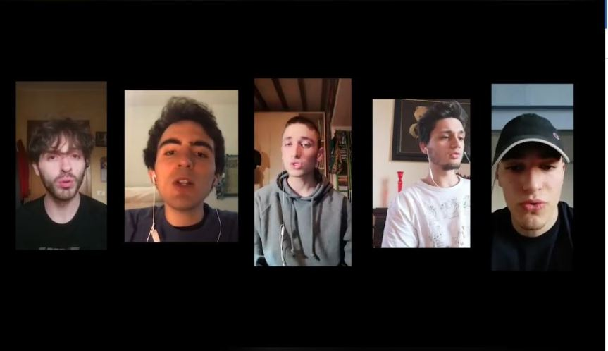 Siena: Dei ragazzi dell'Onda cantano stornelli senesi in un video davverobello