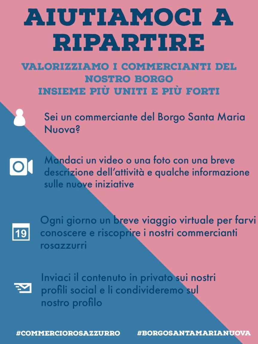 """Palio di Asti, Borgo Santa maria Nuova: Al via l'iniziativa """"Aiutiamoci a Ripartire"""""""