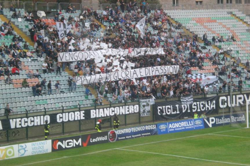 Siena, Acn Siena: Oggi 07/02 Comunicato Stampa tifoseria Curva LorenzoGuasparri