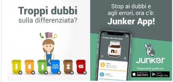Provincia di Siena, La app per i rifiuti a Gaiole in Chianti: Con Junker la differenziata diventafacile