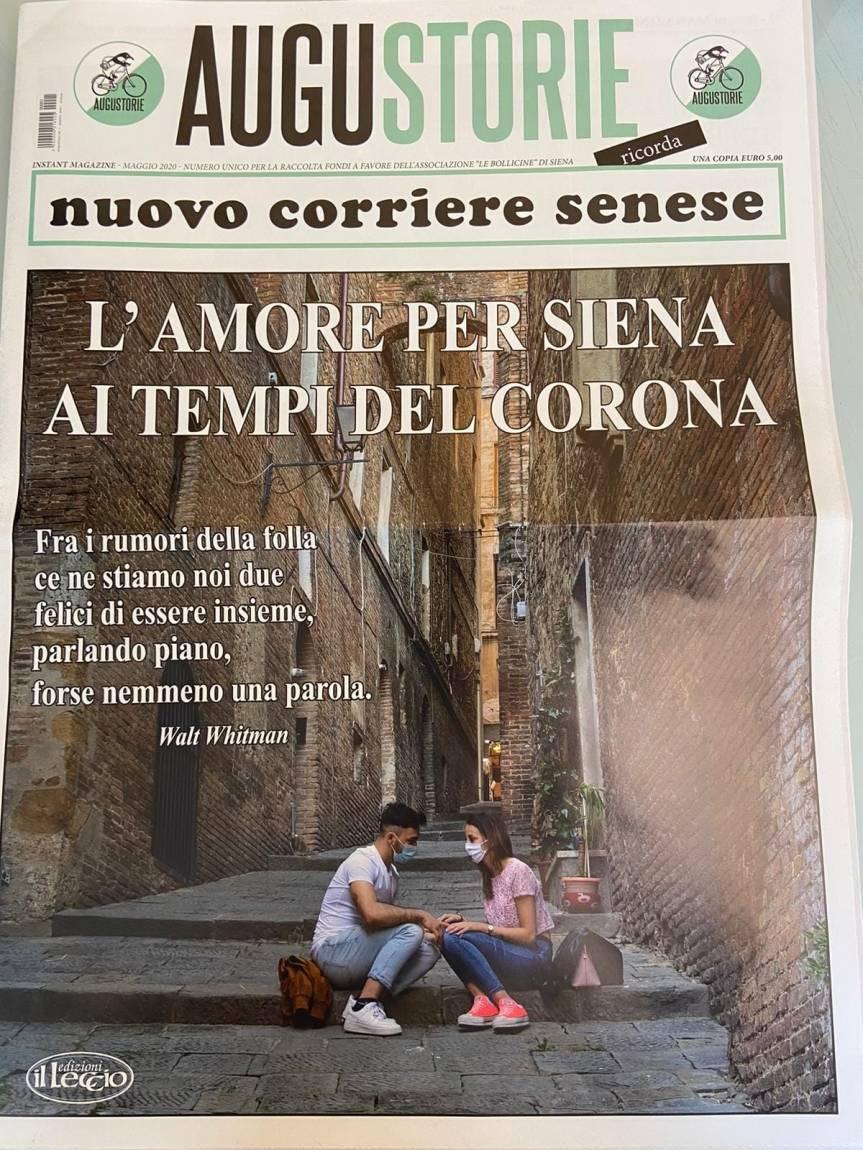 Siena: Augustorie Nuovo Corriere Senese in edicola da oggi29/05