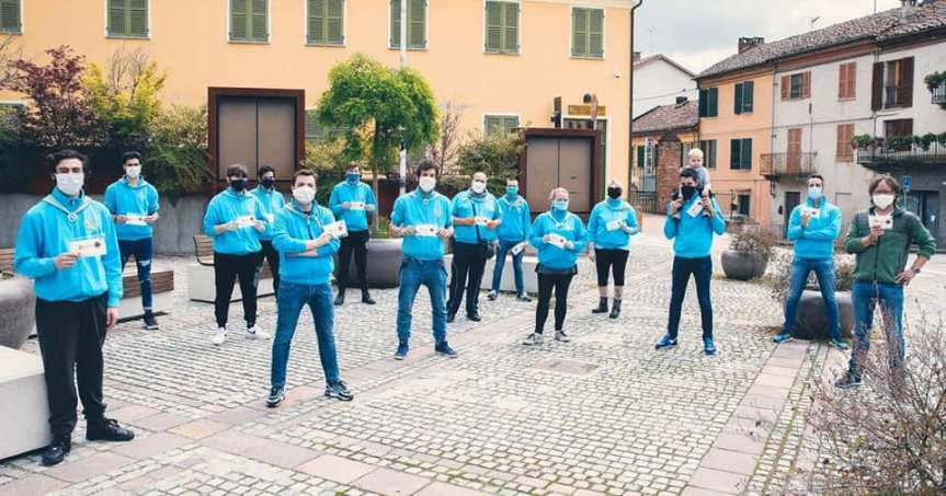 Palio di Asti, Comitato Palio Baldichieri: Oggi 17/05 consegnate le mascherine della RegionePiemonte